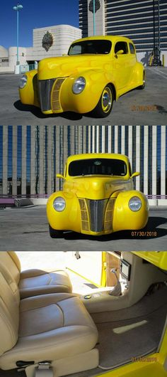 1940 Ford Deluxe Custom Sedan [restored and customized] Custom Cars For Sale, Grant Wood, Vintage Air, Body Modifications, Chevrolet, Restoration, Ford, Body Mods