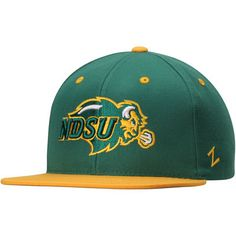 f519833b8c68f NDSU Bison Zephyr Z11 Snapback Adjustable Hat - Green