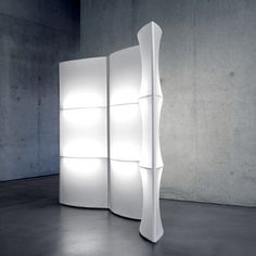Room divider - lamp