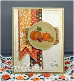 Give Thanks by elizgmom - Cards and Paper Crafts at Splitcoaststampers
