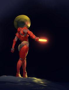 Space Lady Sketch by Alejandro-Mirabal on DeviantArt