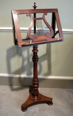 Music Stand (single) $200 (minus discount) at Mo's.  I like it!                                                                                                                                                                                 More