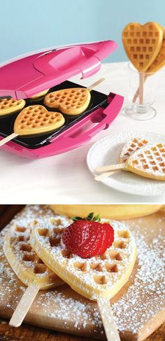 How cute! Not just for valentines day but for breakfast in bed, girls birthday party, or even a dessert.