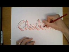 This shows how to make your cursive look even MORE fancy! Believe it or not, it can be done. Turn cursive into something so poetically sublime that it will m...