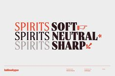 Spirits - Intro Offer 75% off by Latinotype on @creativemarket