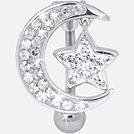 Vente de piercing nombril crystal evolution - Dyanco Piercing Lyon