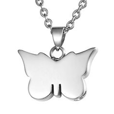 VALYRIA Memorial Butterfly Cremation Pendant Keepsake Urns Necklace *** Check out this great product.