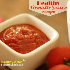 Healthy Tomato Sauce Recipe | Sharny and Julius