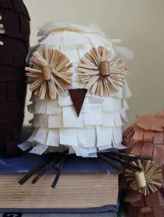 DIY: Tissue Paper Owls
