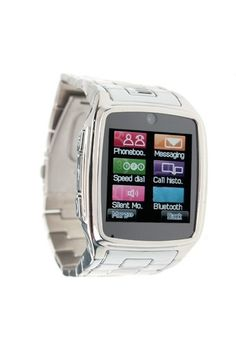 Stainless Steel Watch Phone - Online shopping for Smart Watches best cheap deals from a wide range of high-quality Smart Watches at: topsmartwatchesonline.com