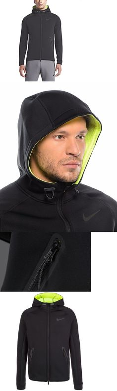 Jackets and Vests 59353: Nike Therma Sphere Full Zip Training Jacket Size Xl Nwt Black Volt Water Repel -> BUY IT NOW ONLY: $79.99 on eBay!