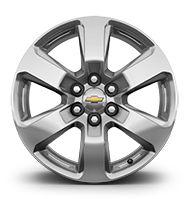 "20"" machined aluminum wheels"