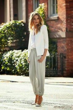 Chic and Silk: GET INSPIRED: Λευκό Σακάκι!