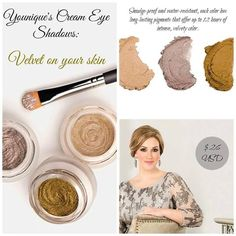 For extravagant lids that glisten, look no further than Younique's Splurge—luxurious, long-wearing cream shadow fit for a queen. Learn how to apply Splurge u. Splurge Cream Shadow Younique, Younique Splurge, Love My Makeup, Fun Makeup, Natural Eye Cream, Dark Circles Under Eyes, Fiber Lash Mascara, Cream Eyeshadow, Skin Firming