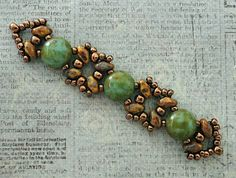Linda's Crafty Inspirations: Playing with my Beads...Sandra Silky with 8mm Candy…