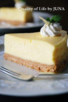【第3位】レア風だけど、じつはベイクド!「簡単チーズケーキ」