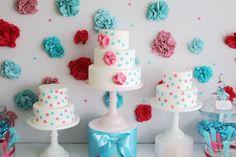Ruffles & Dots Cake Trios