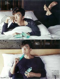 2PM's Wooyoung for Ceci
