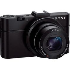 "Sony Cyber-Shot DSC-RX100 II Digital Camera, 20.2Mp, 1"" Exmor CMOS Sensor, via Wi-Fi or NFC, F1.8 Carl Zeiss Vario-Sonnar T* lens with 3.6x Zoom"
