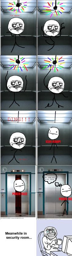 Rage Comics: No one will ever know