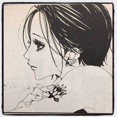 Manga Art, Manga Anime, Nana Manga, 1990 Movies, Naruto Drawings, Anime Style, Shoujo, New Art, Cartoon