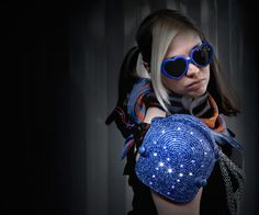 LED Shoulder Pads #arduino #radioshack #Halloween #costume #fashion