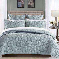 Dream Waltz Luxury Pure Cotton Quilt By Calla Angel, King, Fog Calla Angel http://www.amazon.com/dp/B00WOVQQC4/ref=cm_sw_r_pi_dp_AXxowb1TW5EPX