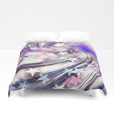 popular purple Duvet Cover | Society6