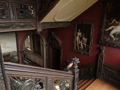 Staircase at Ham House, Richmond, Surrey. by simon_t_ml, via Flickr