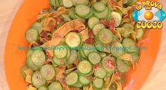 Pappardelle variegate con le zucchine ricetta Alessandra Spisni