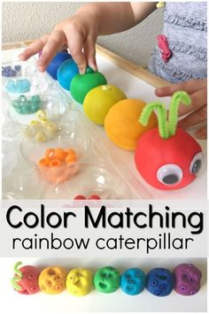 9 Easy Toddler Learning Activities Using Play Dough Playdough Activities, Gross Motor Activities, Toddler Learning Activities, Spring Activities, Fun Learning, Color Activities For Toddlers, Therapy Activities, Preschool Colors, Preschool Color Activities