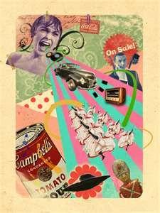 I love collage art