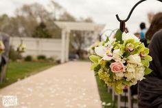 Hanging pomander ball by Best Day Floral Dedsign
