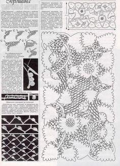 Tina's handicraft : 37 crochet stitch , mandala & motif