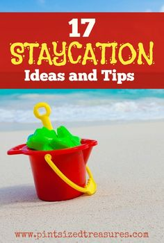 Wanting to try a staycation this Spring or Summer? Check out these family-centered ideas and tips to make your staycation a fun success!