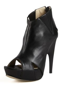 C'N'C Costume National Open Toe Ankle Bootie by Transition Into Fall: Booties and More on @HauteLook