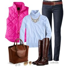 """""""Spring Colors for Fall"""" by archimedes16 on Polyvore"""