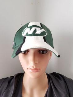 New York NY Jets Baseball Hat NFL Equipment Reebock #Reebok #BaseballCap