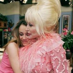 "Dolly Parton ...~ aka ""Aunt Dolly"" on the Hannah Montanna Show"