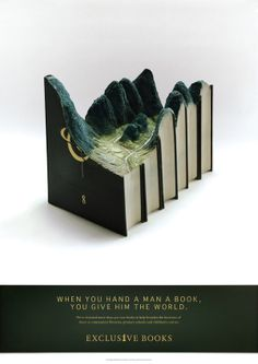 Exclusive Books - Good Books by Dave Everson, via Behance