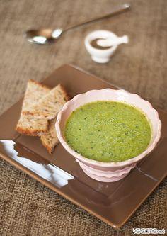 green-gaspacho poivron vert - concombre