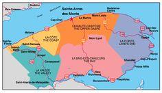 La Martre, Canada, Quebec City, Montreal, Paradis, Map, Tourism, Travel, Madeleine