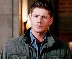 Dean's eye roll.. he is so done