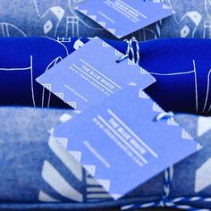 Blue and white tags ▫️ #thebluewhite #brand #minimal_greece #gift #wrap #ready