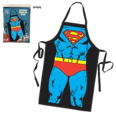 Superman Character Costume Apron by ICUP, http://www.amazon.com/dp/B00541R3UK/ref=cm_sw_r_pi_dp_rACRqb16GWTH1