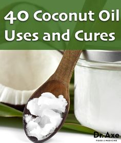 40 Coconut Oil Infographic - best list ever, tops some of the other ones I've collected www.boldfamilies.com