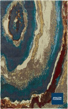 Formations Area Rug in Geode color   3x5 Starting at $199   Also Available in 8x11 and 10x13   Shop Local – Avalon Flooring   #arearugs #designtrends #geodes #natural #rugs