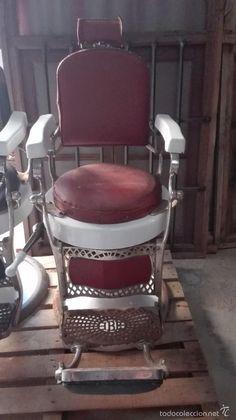 Sillón de barbero antiguo IBE - Foto 1