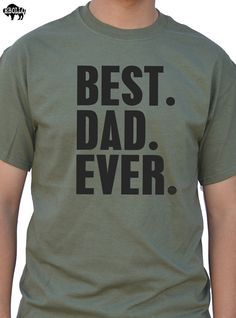 Day regalo migliore papà mai Mens t camicia del papà di ebollo