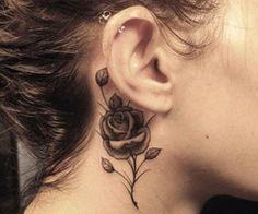 Tatuajes, Fotos e imágenes de diseños de tatuajes para mujeres y hombres » tatuajes en la oreja